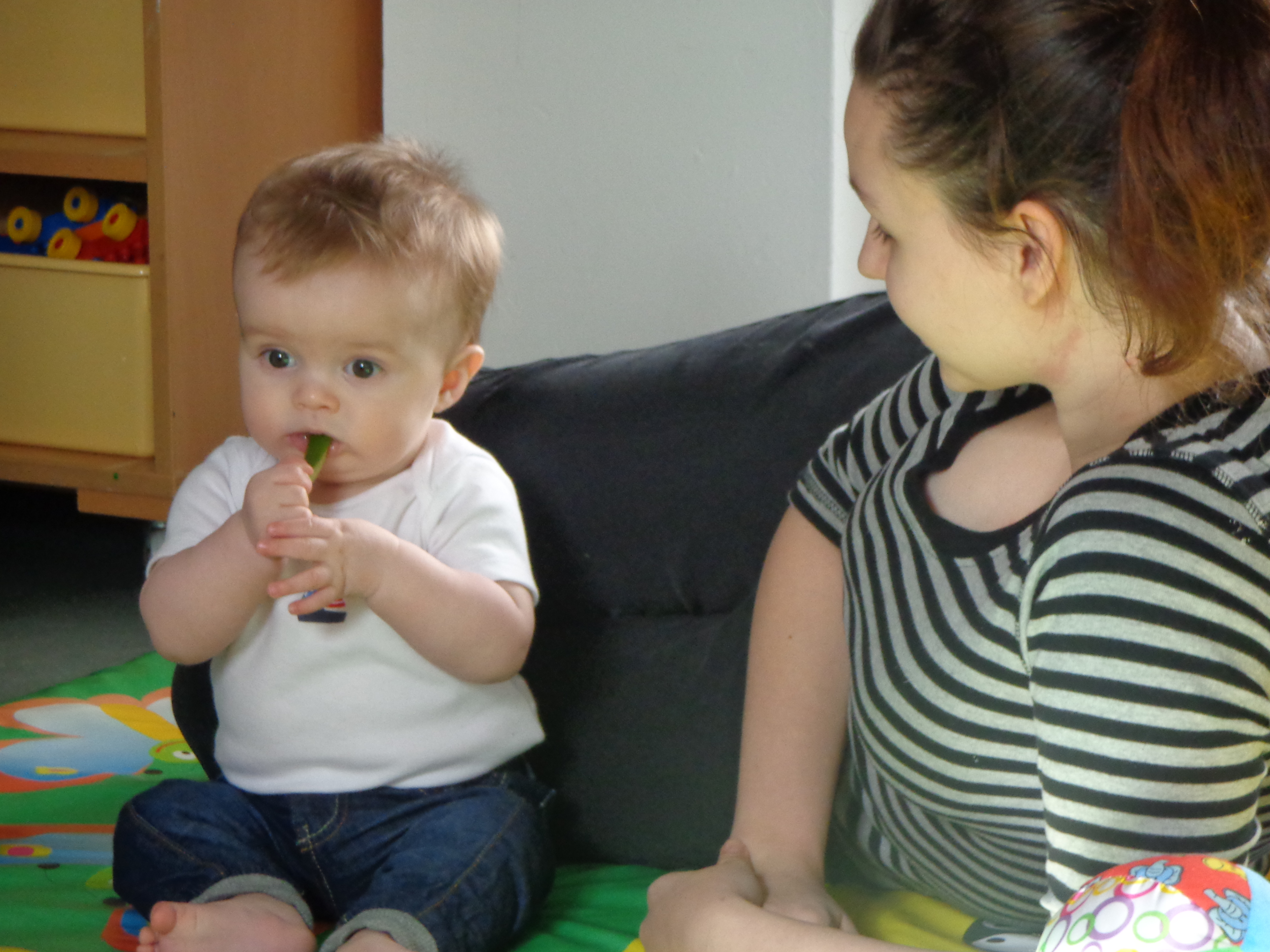 Baby weaning group