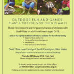 Outdoor Fun and Games! Plant a tree for every child in Wales