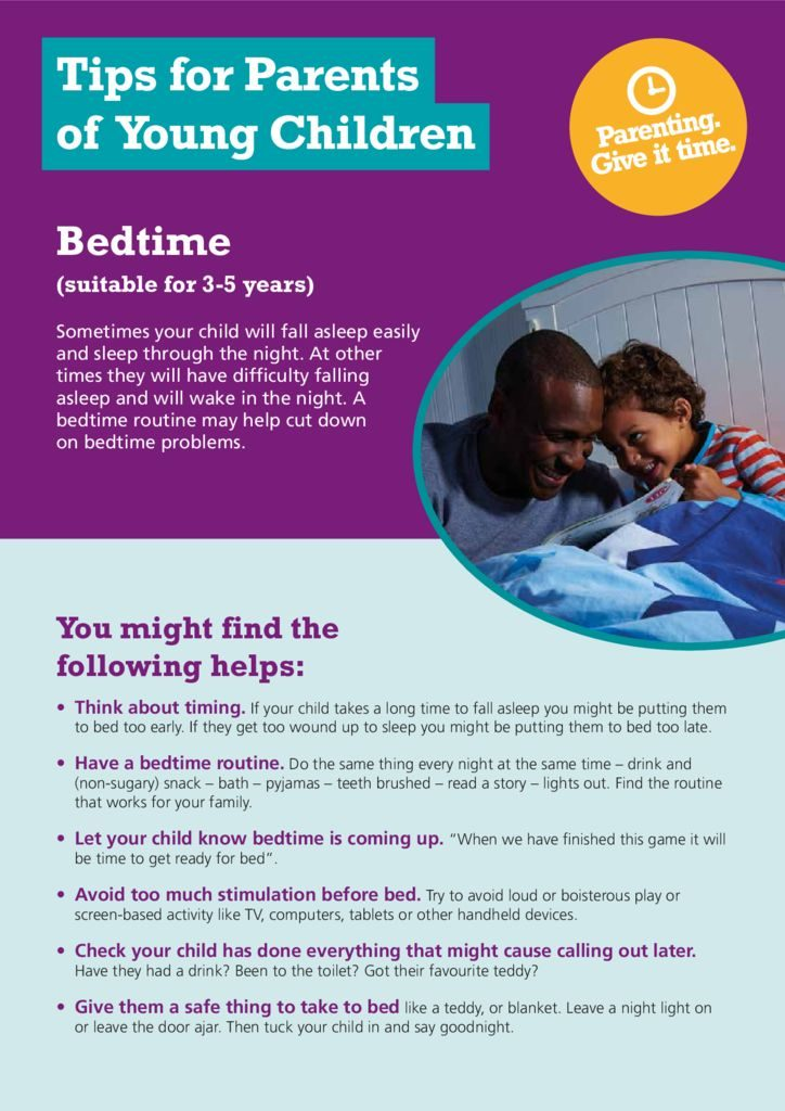 thumbnail of 30582_Bedtime_Advice_Sheet_e