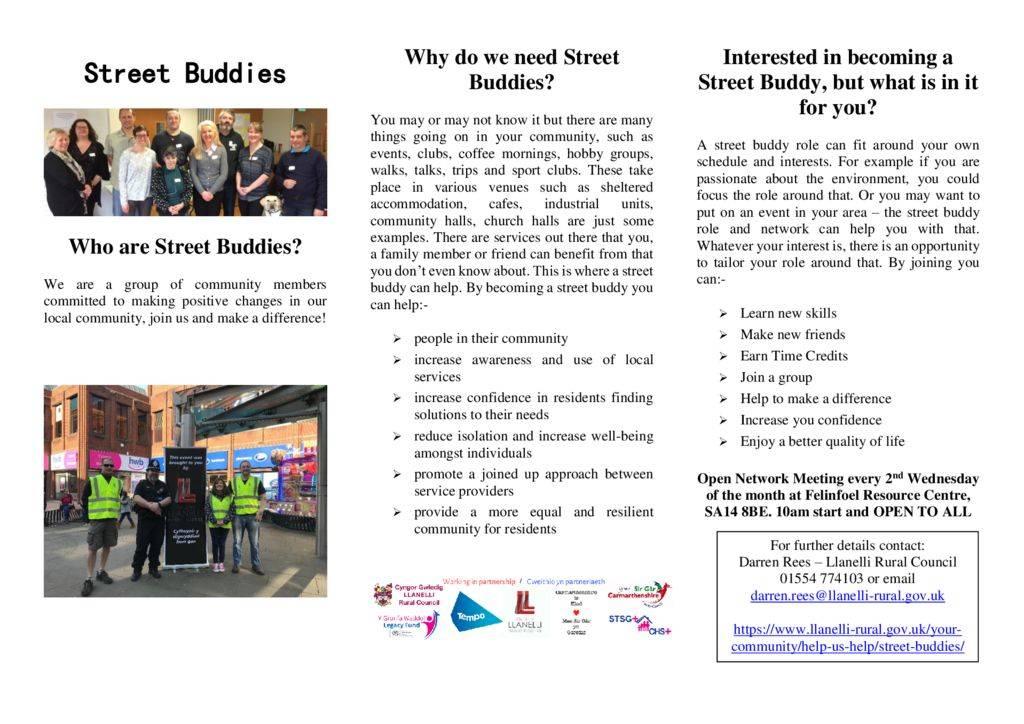 thumbnail of Street Buddies leaflet