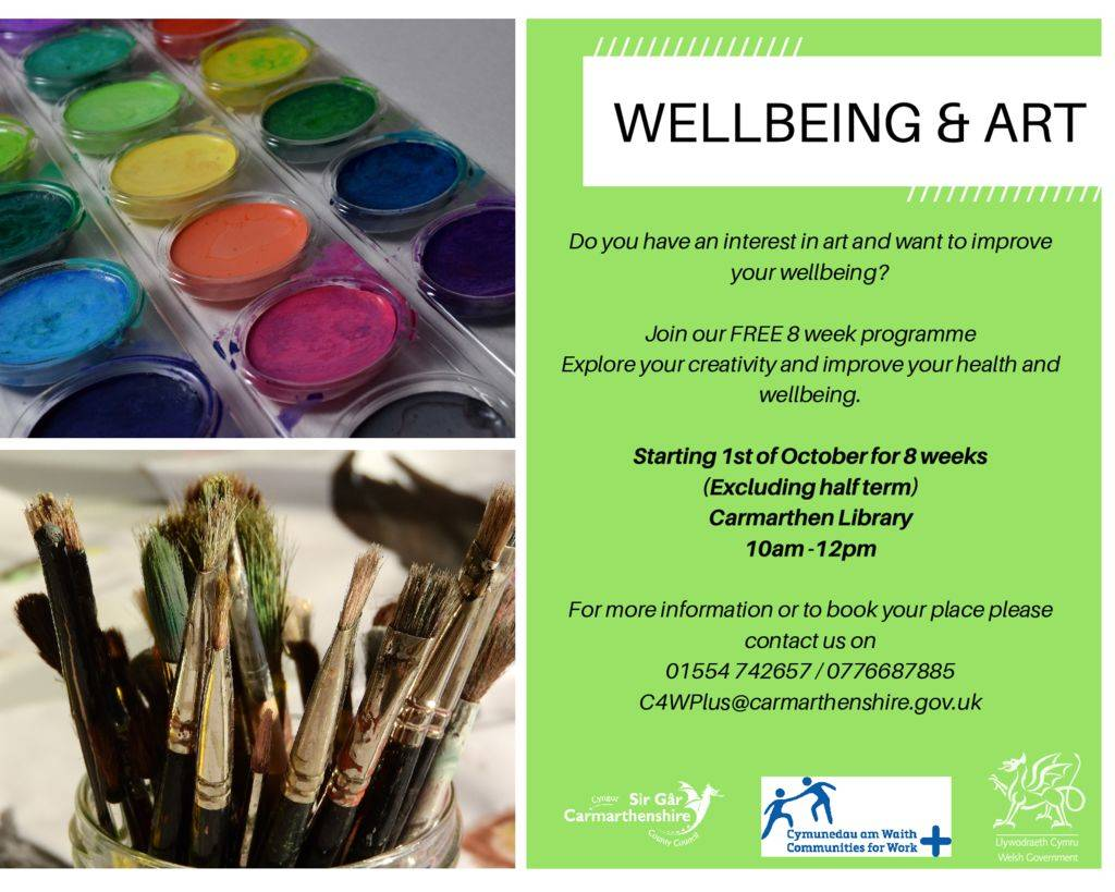 thumbnail of wellbeing and art Carmarthen