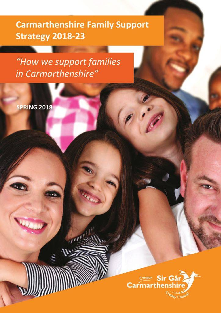 thumbnail of 2018-23 Carmarthenshire Family Support Strategy ENG