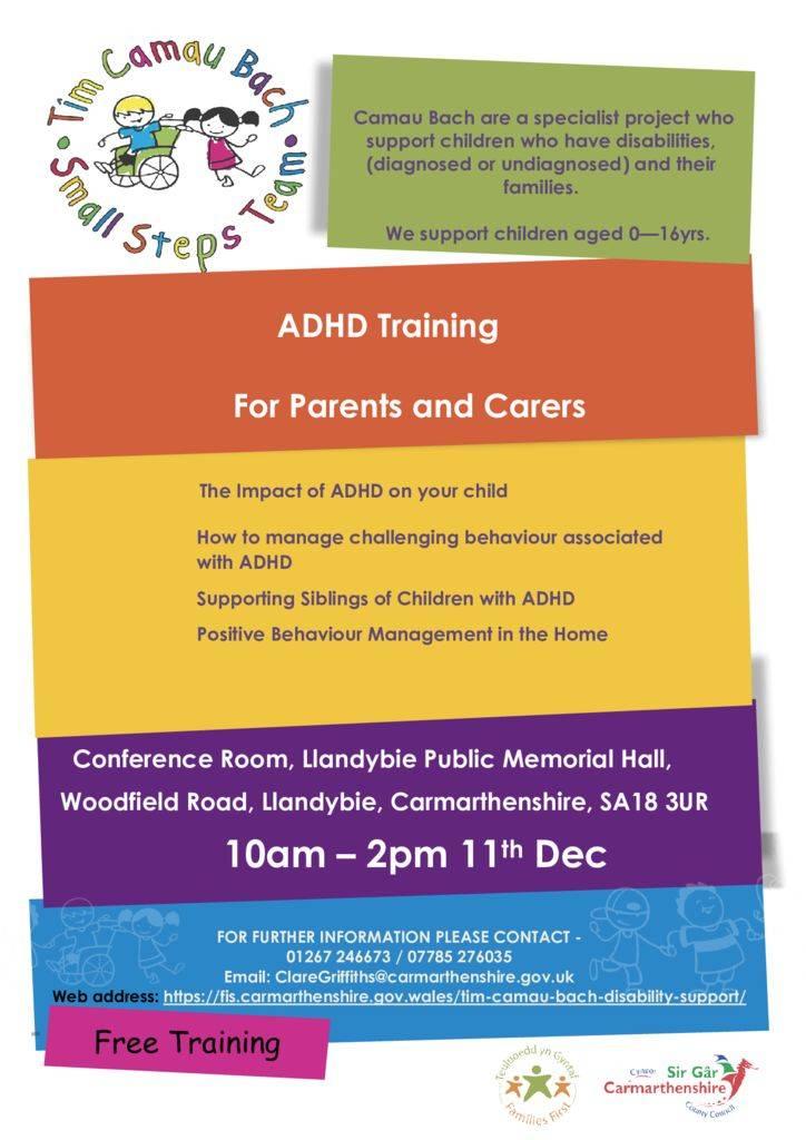 thumbnail of ADHD training poster