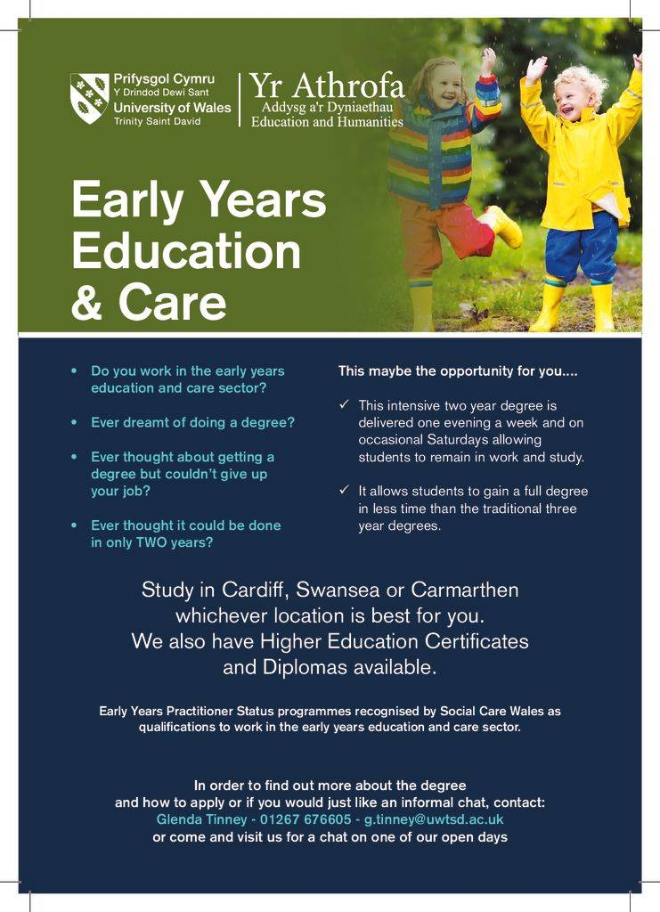 thumbnail of Early Years Flyer August 2019