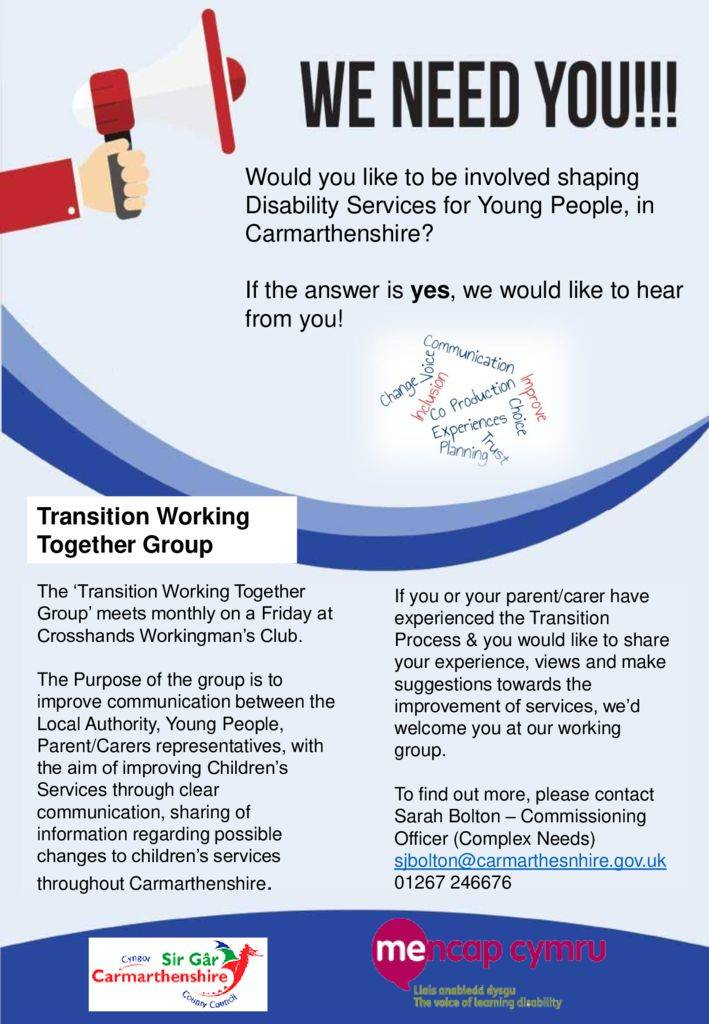 thumbnail of English Transition Working Together Poster