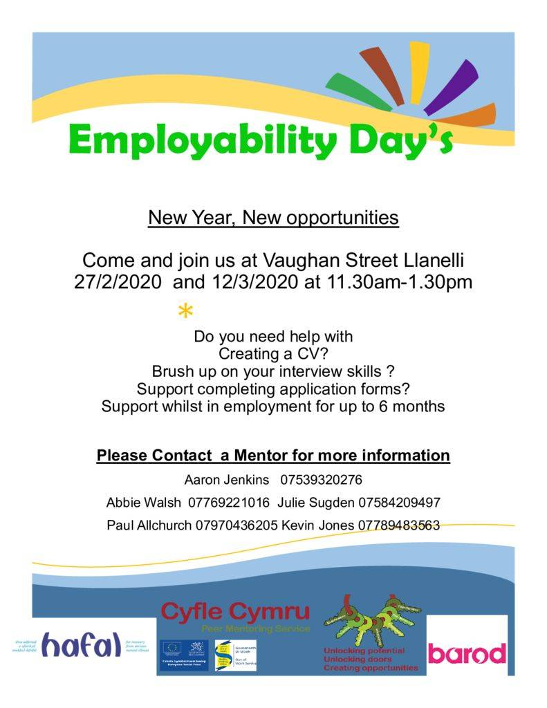 thumbnail of employability day poster feb