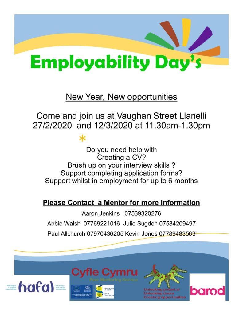 thumbnail of employability day poster feb