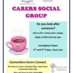 thumbnail of Carmarthen Carers group Poster English 2020