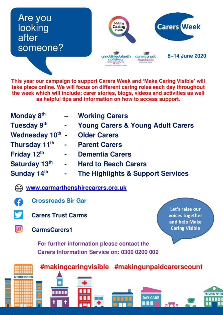 thumbnail of Carers Week poster