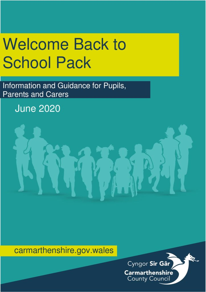 thumbnail of Welcome Back pack – Pupils and Parents