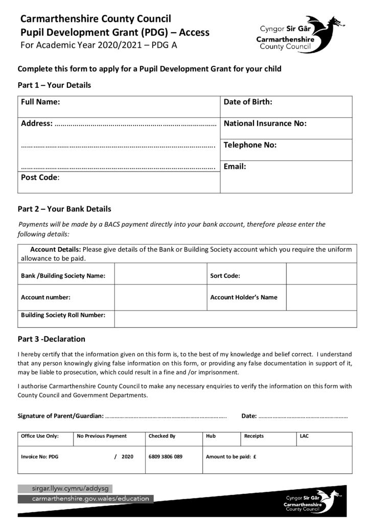 thumbnail of 2020 PDG ACCESS GRANT APPLICATION FORM