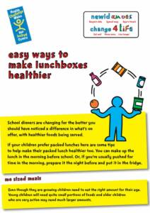 thumbnail of Change for Life Lunchbox Leaflet – English final