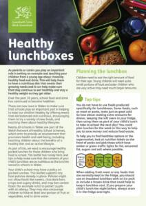 thumbnail of Welsh Government190219 Healthy Lunchboxes Leaflet – English