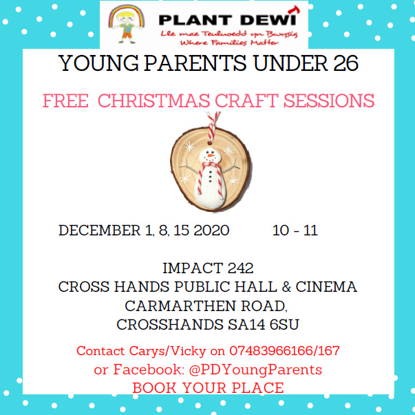 Free Christmas Craft Sessions