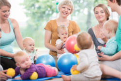 Mother and toddler group